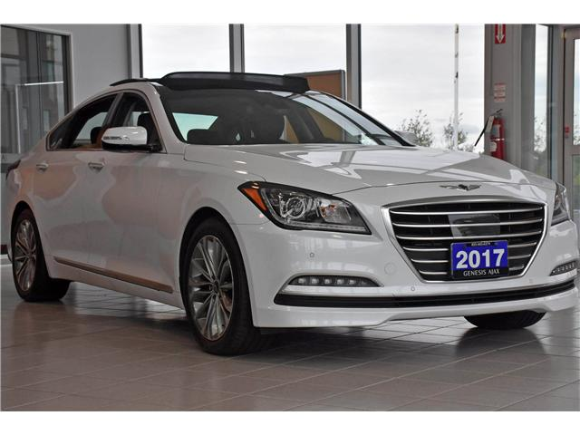 2017 Genesis G80 3.8 Luxury (Stk: G17000) in Ajax - Image 1 of 24