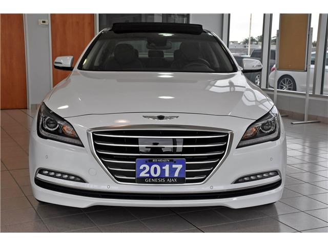 2017 Genesis G80 3.8 Luxury (Stk: G17000) in Ajax - Image 2 of 24