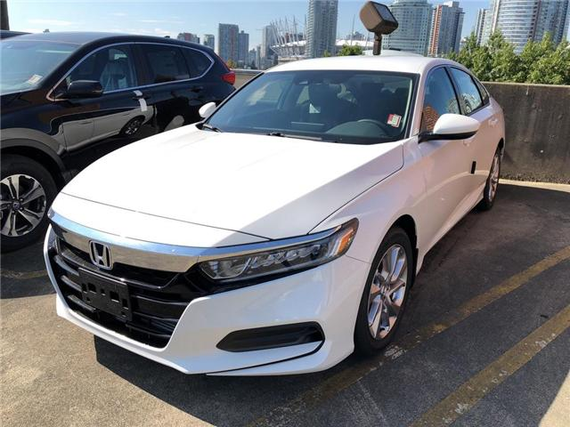 2018 Honda Accord LX (Stk: 6J07960) in Vancouver - Image 1 of 4
