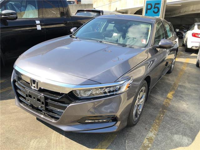 2018 Honda Accord EX-L (Stk: 6J13230) in Vancouver - Image 1 of 4