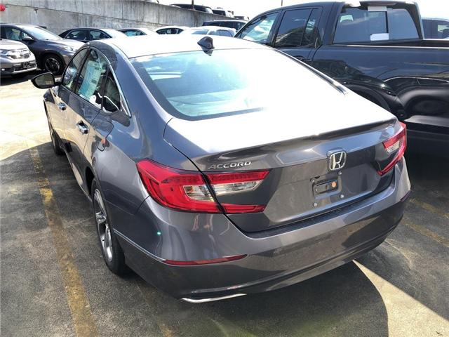 2018 Honda Accord EX-L (Stk: 6J13230) in Vancouver - Image 2 of 4
