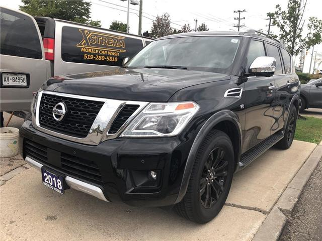 2018 Nissan Armada Platinum (Stk: NW1062) in Waterloo - Image 1 of 5