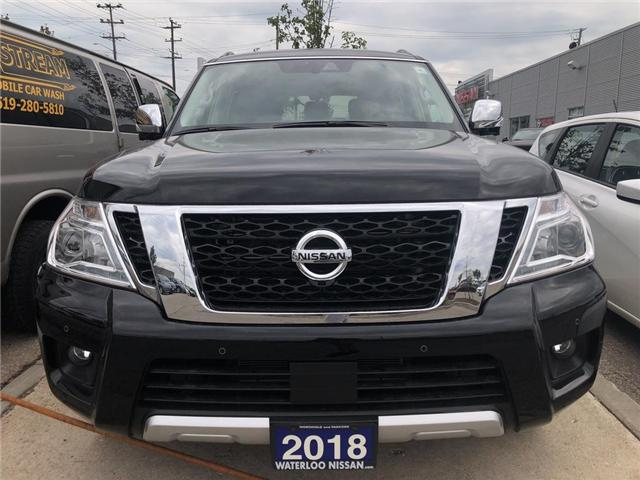 2018 Nissan Armada Platinum (Stk: NW1062) in Waterloo - Image 2 of 5