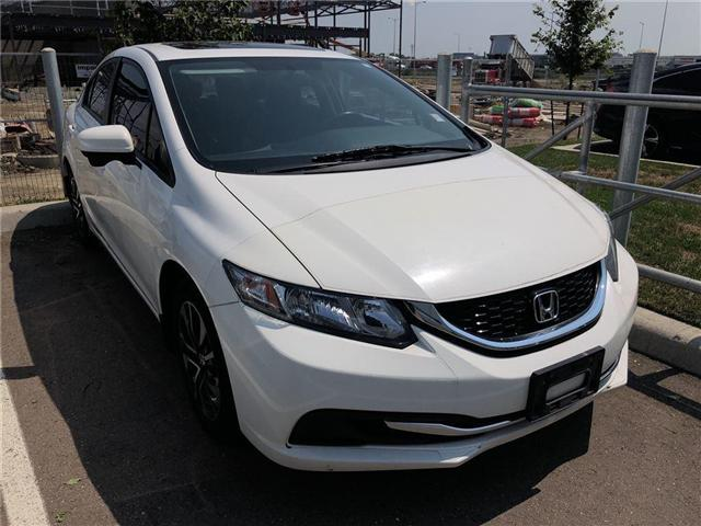 2015 Honda Civic EX (Stk: I181456A) in Mississauga - Image 1 of 6