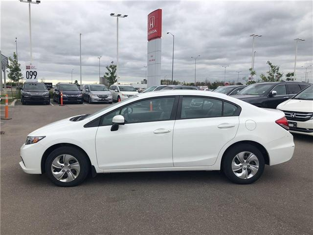 2015 Honda Civic LX (Stk: I181458A) in Mississauga - Image 2 of 5