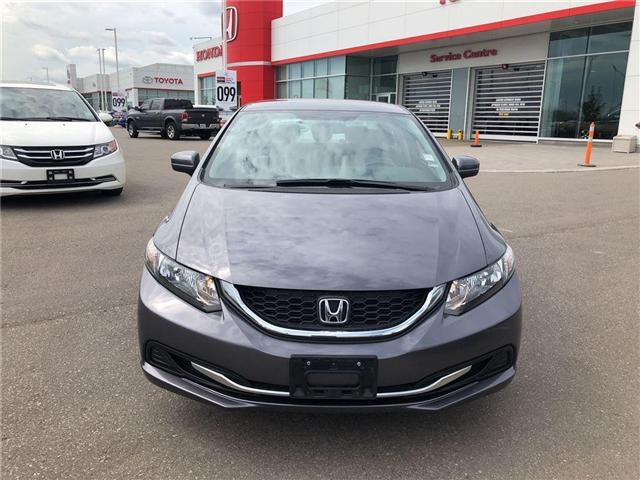 2014 Honda Civic LX (Stk: I181347A) in Mississauga - Image 2 of 20