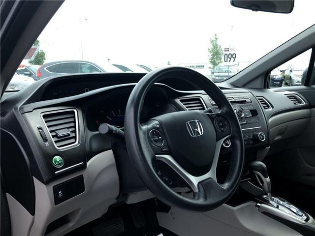 2014 Honda Civic LX (Stk: I181347A) in Mississauga - Image 11 of 20