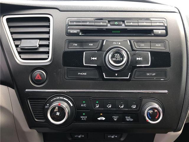 2014 Honda Civic LX (Stk: I181347A) in Mississauga - Image 14 of 20