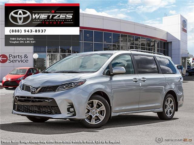 2019 Toyota Sienna LE AWD 7 Passenger (Stk: 67286) in Vaughan - Image 1 of 25
