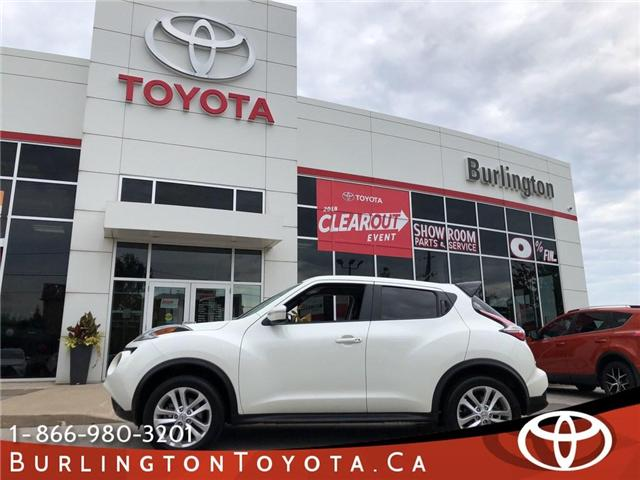 2017 Nissan Juke  (Stk: U10401) in Burlington - Image 1 of 19