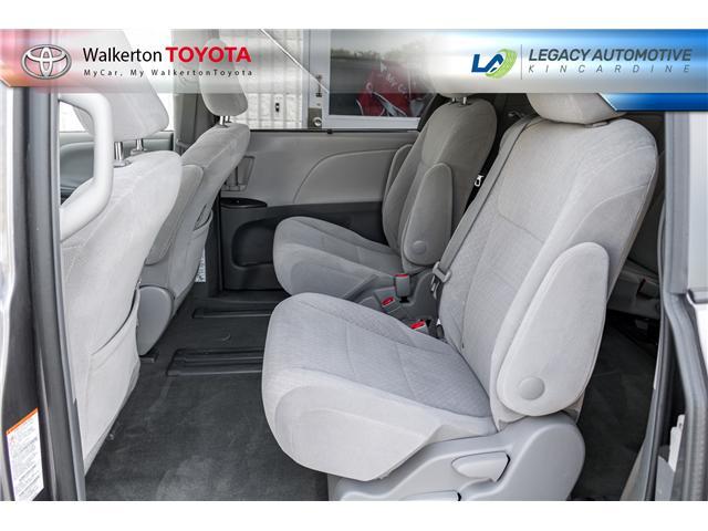 2017 Toyota Sienna LE 8 Passenger (Stk: P7073) in Kincardine - Image 9 of 18