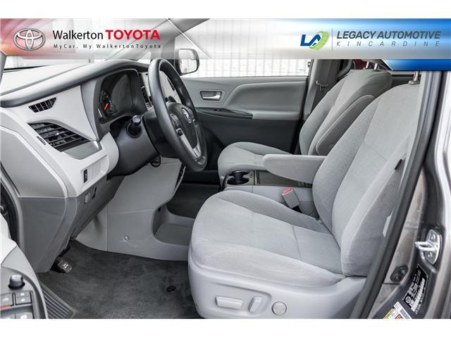 2017 Toyota Sienna LE 8 Passenger (Stk: P7073) in Kincardine - Image 10 of 18