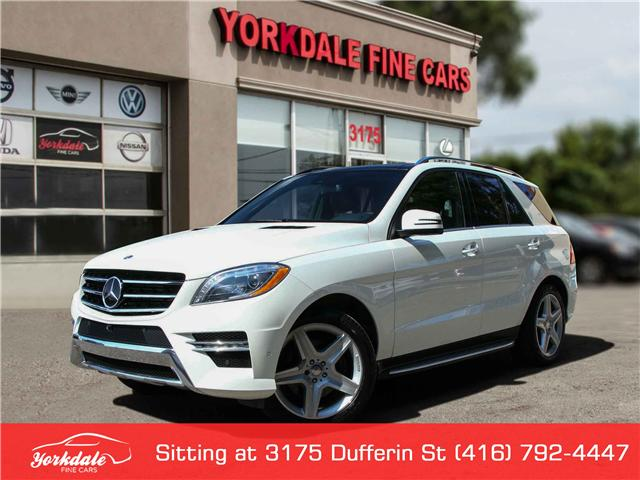 2015 Mercedes-Benz M-Class  (Stk: D1141) in Toronto - Image 1 of 30