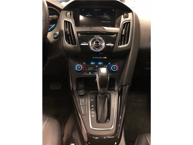 2018 Ford Focus Titanium (Stk: D9775) in Mississauga - Image 15 of 29