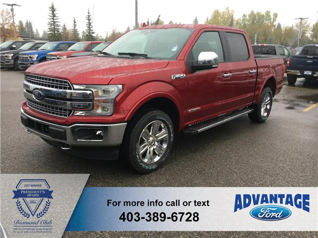 2018 Ford F-150 Lariat (Stk: J-1583) in Calgary - Image 1 of 6