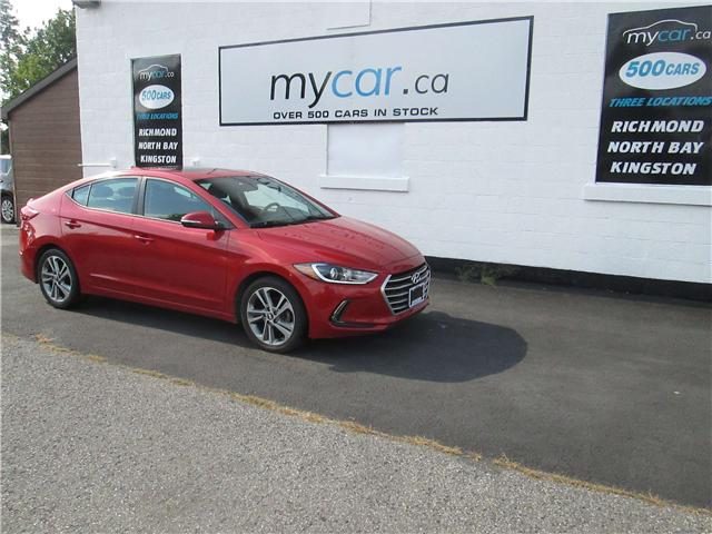 2017 Hyundai Elantra GLS (Stk: 181313) in Richmond - Image 2 of 14