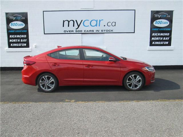 2017 Hyundai Elantra GLS (Stk: 181313) in Richmond - Image 1 of 14