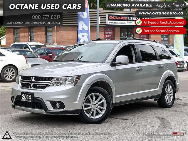 2014 Dodge Journey SXT (Stk: ) in Scarborough - Image 1 of 24