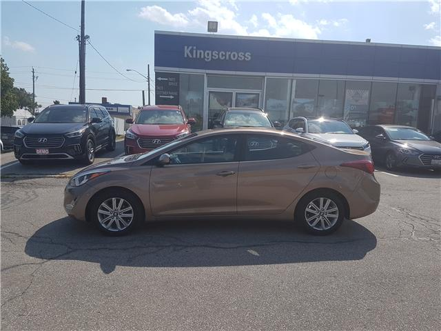 2016 Hyundai Elantra Sport Appearance (Stk: 27496A) in Scarborough - Image 1 of 12