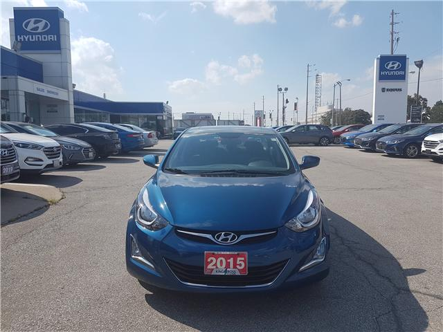 2015 Hyundai Elantra Sport Appearance (Stk: 27902A) in Scarborough - Image 2 of 12