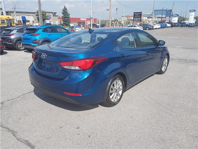 2015 Hyundai Elantra Sport Appearance (Stk: 27902A) in Scarborough - Image 6 of 12
