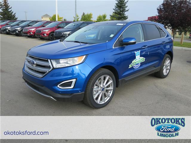 2018 Ford Edge Titanium (Stk: J-1714) in Okotoks - Image 1 of 5