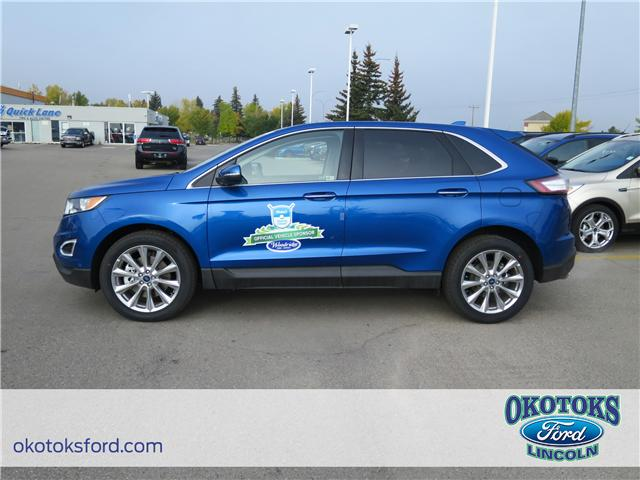 2018 Ford Edge Titanium (Stk: J-1714) in Okotoks - Image 2 of 5
