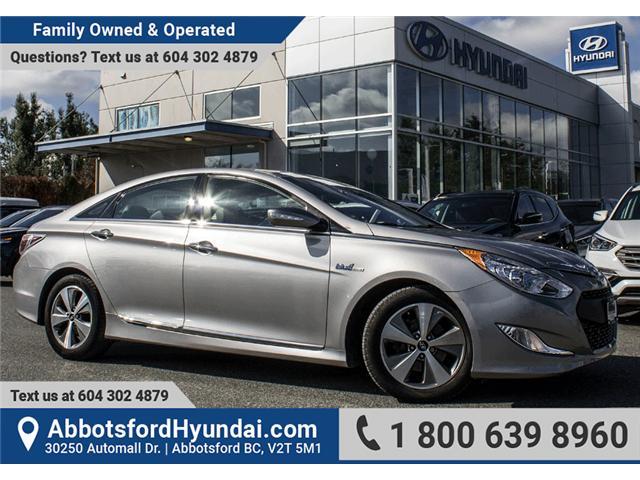 2012 Hyundai Sonata Hybrid Premium (Stk: JI070498B) In Abbotsford   Image 1  Of