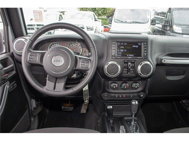 2018 Jeep Wrangler JK Unlimited Sahara (Stk: EE897080) in Surrey - Image 11 of 23