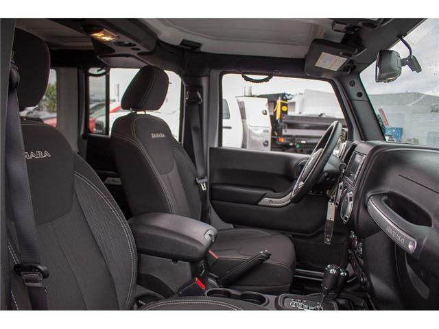 2018 Jeep Wrangler JK Unlimited Sahara (Stk: EE897080) in Surrey - Image 15 of 23