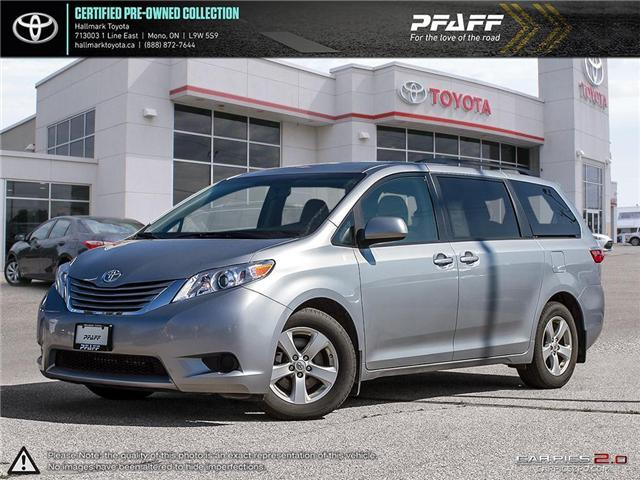 2016 Toyota Sienna LE 8 Pass V6 6A (Stk: HU4470) in Orangeville - Image 1 of 27