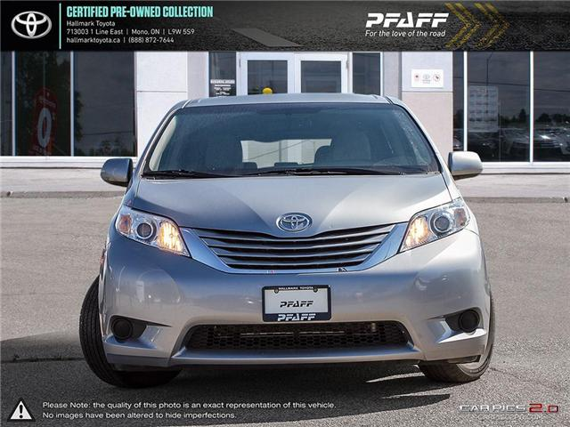 2016 Toyota Sienna LE 8 Pass V6 6A (Stk: HU4470) in Orangeville - Image 2 of 27