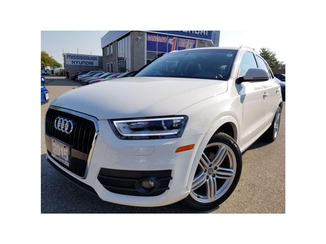 2015 Audi Q3 Technik-Moonroof-Navi GREAT DEAL (Stk: OP9994) in Mississauga - Image 1 of 20