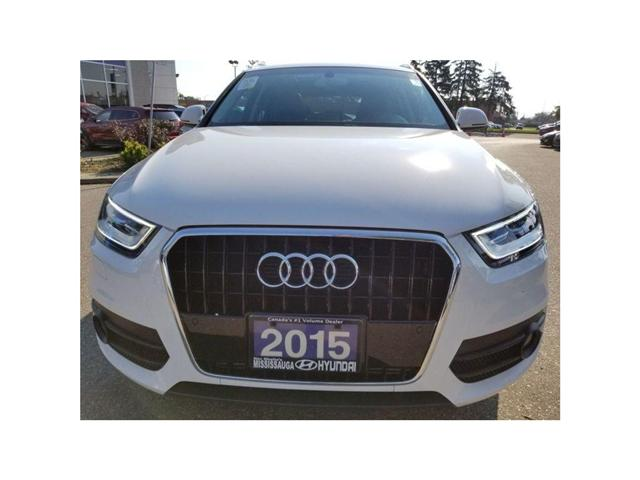 2015 Audi Q3 Technik-Moonroof-Navi GREAT DEAL (Stk: OP9994) in Mississauga - Image 2 of 20