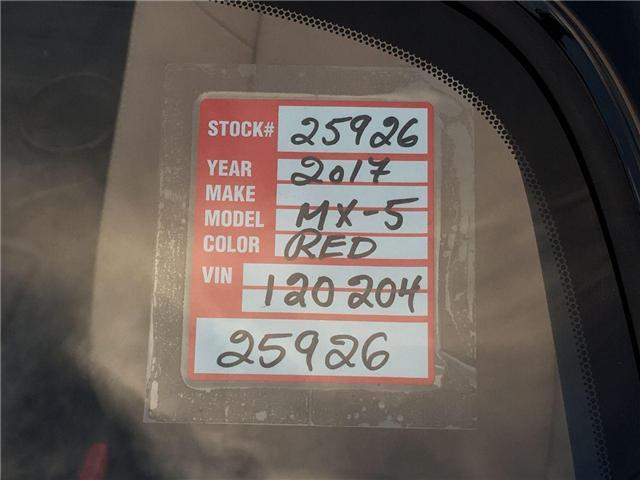 2017 Mazda MX-5 GT (Stk: 25926) in East York - Image 27 of 28