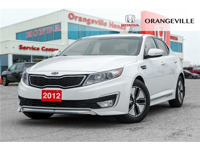 2012 Kia Optima Hybrid  (Stk: C18071C) in Orangeville - Image 1 of 20
