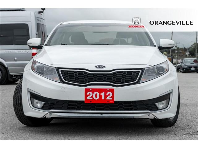 2012 Kia Optima Hybrid  (Stk: C18071C) in Orangeville - Image 2 of 20