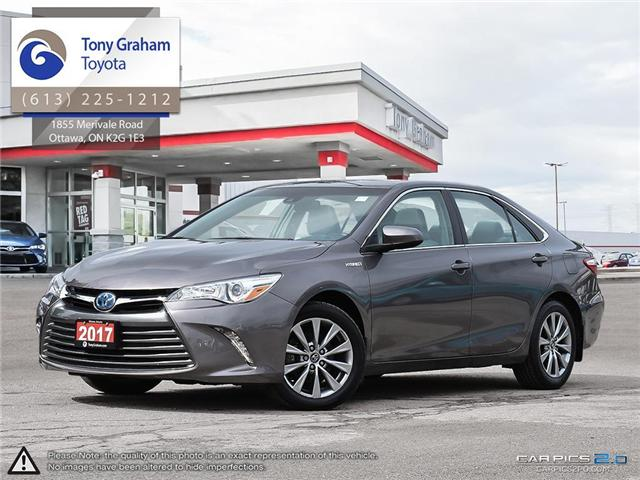 2017 Toyota Camry Hybrid XLE (Stk: 55949A) in Ottawa - Image 1 of 27