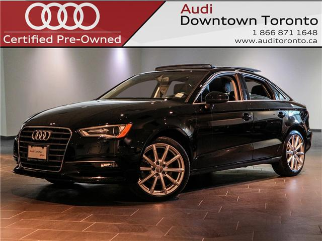 2016 Audi A3 1.8T Progressiv (Stk: P2823) in Toronto - Image 1 of 28