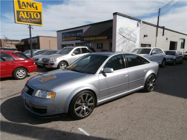 2004 Audi RS6 4.2 (Stk: ) in Etobicoke - Image 1 of 23