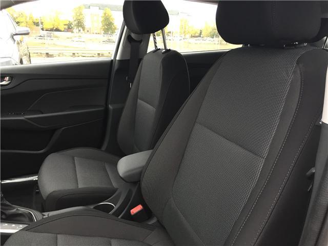 2019 Hyundai Accent Preferred (Stk: 39028) in Saskatoon - Image 10 of 19