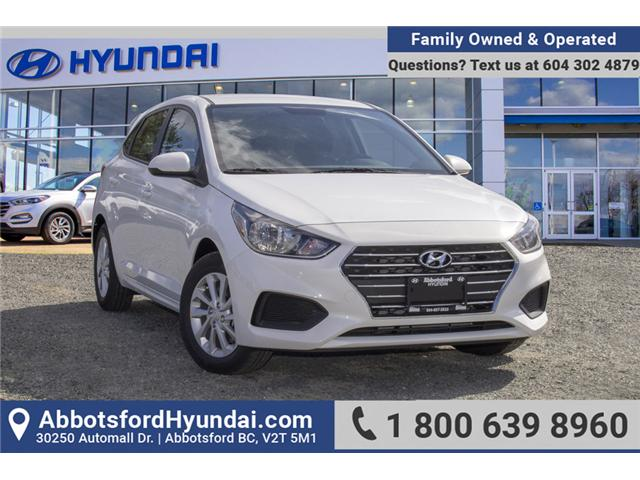 2019 Hyundai Accent Preferred (Stk: KA046630) in Abbotsford - Image 1 of 30