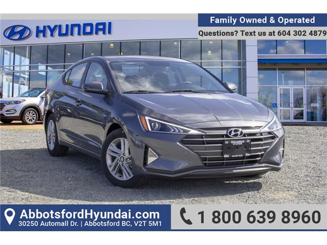 2019 Hyundai Elantra  (Stk: KE741718) in Abbotsford - Image 1 of 27