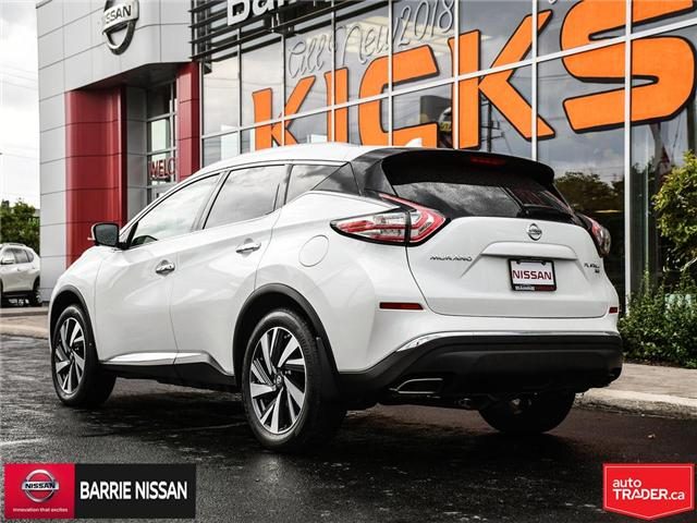 2017 Nissan Murano Platinum (Stk: 18687A) in Barrie - Image 4 of 28