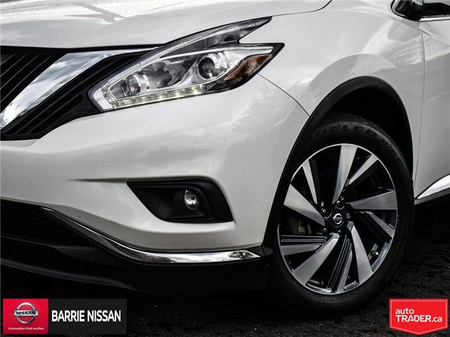 2017 Nissan Murano Platinum (Stk: 18687A) in Barrie - Image 7 of 28
