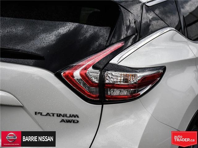 2017 Nissan Murano Platinum (Stk: 18687A) in Barrie - Image 9 of 28