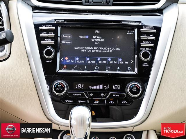 2017 Nissan Murano Platinum (Stk: 18687A) in Barrie - Image 21 of 28