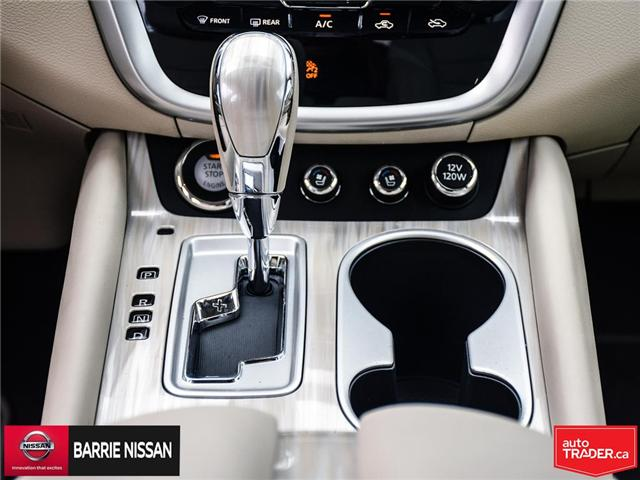 2017 Nissan Murano Platinum (Stk: 18687A) in Barrie - Image 22 of 28
