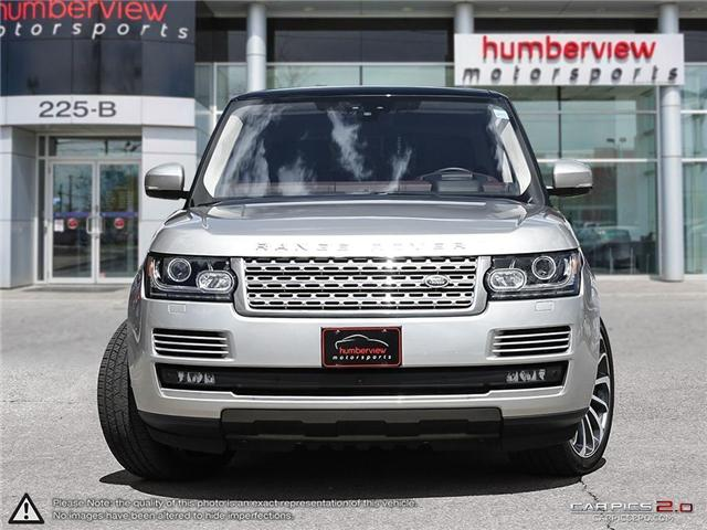 2017 Land Rover Range Rover 5.0L V8 Supercharged Autobiography (Stk: 18MSX414) in Mississauga - Image 2 of 27