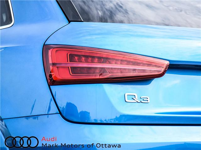 2018 Audi Q3 2.0T Progressiv (Stk: 90694) in Nepean - Image 8 of 29